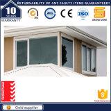 Окно алюминиевого двойного стеклянного предохранения от крена сползая