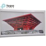 стекло конструкции 3-15mm анти- отражательное стеклянное (AR-TP)