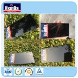 Hsinda Gloss preto RAL9005 revestimento em pó efeito de espelho