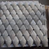 Polished Beautiful Rhombus Wood-Grain White Mosaic Tile