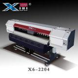 La impresora de Xuli - los 2m cuatro 5113 impresora de sublimación de tinte de la cabeza de impresión (3PL) para la impresión de materia textil de Digitaces con la alimentación auto de lujo y toma el sistema