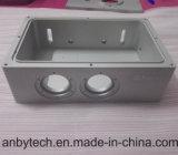 ABS / PC / PMMA / piezas de prototipo de la máquina del CNC de aluminio