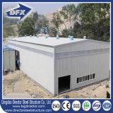 Entrepôt préfabriqué de construction du bâti 2017 en acier