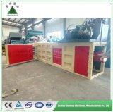Propre usine Auto Drive Presse de la machine pour l'OCC, ordures, déchets de papier, carton, de la paille, plastique, TEP/presse à balles horizontale/recyclage Presse/ce/ISO/CNA/IAF