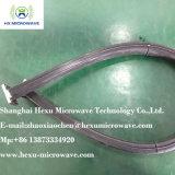 Guida di onde flessibile di Twistable con la flangia di gomma del rame e del rivestimento