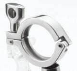 Braçadeira sanitária da alta pressão do aço inoxidável