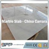 Parte superiore di pietra naturale di marmo bianca di vanità della Cina Carrara & materiali da costruzione del controsoffitto della cucina