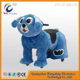 新しいビジネスは大きい動物のおもちゃのための子供の乗車を写し出す