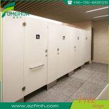 L schreiben phenoplastisches Harz-Toiletten-Partition mit Nylonzubehör