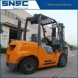 Forklift Diesel de China 3.5ton com preço da braçadeira do bloco