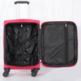 高品質の安いスーツケースのナイロンLugage袋旅行トロリー荷物