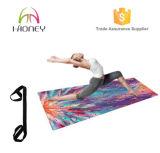 Hoog - de Matten van de Yoga van de Oefening van het Natuurlijke Rubber van de dichtheid