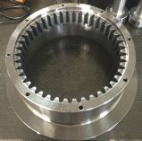 Pièce chaude de roue d'acier inoxydable de la pièce forgéee Ss316