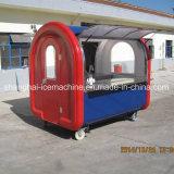 Caminhão para a venda, fabricante Jy-B4 do fast food do Waffle do cão de milho