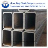150mmx150mm cuadrado negro para la construcción de la estructura de tubo de acero