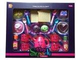 Conjunto lindo del juego de la cocina del diseño de Teatime para los niños