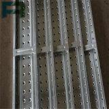 Plancia/trampolino d'acciaio galvanizzati 230*63*1800 per costruzione