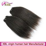 Человеческие волосы сотка Kinky прямые камбоджийские волос