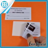 Kundenspezifisches wasserdichtes gestempelschnittenes Vinylaufkleber-Drucken mit ISO/Ts16949 bestätigt