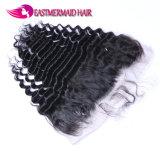 Onda profonda frontale di Remy del merletto brasiliano dei capelli umani