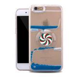 Крышка для мобильных телефонов преодоление зыбучих песков жидкость ПК чехол для iPhone