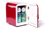 Elektronische MiniKoelkast 4liter DC12V, AC100-240V met het Koelen en het Verwarmen voor Auto, Bureau, het Gebruik van het Huis