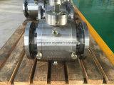 ASTM A182 F51 ha forgiato la valvola a sfera del perno di articolazione