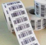 Aangepaste Zelfklevende Sticker met Streepjescode
