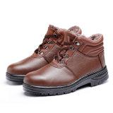 Держите ботинки безопасности S3 разделения теплой зимы анти-