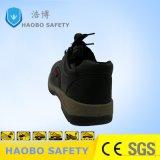 Двойной плотности PU единственной кожаный чехол водонепроницаемый промышленной безопасности обувь