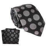 Cravate en Soie fait sur mesure de qualité supérieure mouchoir de poche ensemble cadeau carré