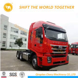 트랙터 트럭을 견인하는 Iveco Hongyan Genlvon 6X2 트랙터
