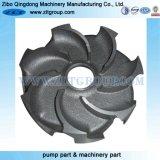 鋼鉄によって失われるワックスの鋳造ポンプスペアーのインペラー