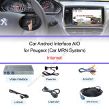 Plug and Play Android Auto Video Interface fonctionne sur 2014 pour Peugeot-2008/208/508/408 Support DVR, caméra de recul
