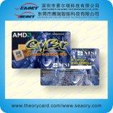 cartão de visto do PVC da impressão 13.56MHz Offset com amostras livres