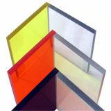 Panel de policarbonato de exterior de 50 micrones UV-revestido