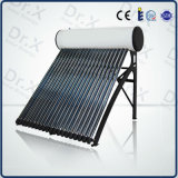 電流を通された加圧太陽給湯装置