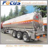 Топливозаправщик дизеля/газолина/нефти/сырой нефти/топлива алюминиевого сплава 3 Axles