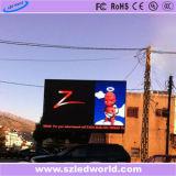 délai de livraison courts Outdoor moulé Affichage LED de location