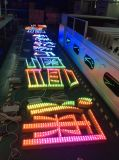 Señal de publicidad exterior Personalizar la superficie metálica Lit/Canal LED retroiluminada carta