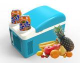 냉각 및 데우는 기능 모두에 있는 휴대용 열전 냉각기 DC12V