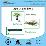 Seedling Soil Heat Cable com Metal Wire Braid Plant Aquecimento Cabo Cabo de aquecimento