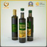 Темно - зеленые стеклянные бутылки для оливкового масла с алюминиевой крышкой (1106)