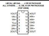 Nieuwe en Originele IC Lm324apw verviervoudigt Operationele Versterker IC