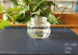 Foscas/boião de creme de vidro transparente