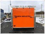 Chariot automatique de casse-croûte de hot-dog de chariot de restauration de Kebab de stalle de chariot à transport