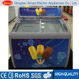 Congelador de vidro de Door Ice Cream Display com ETL (XS-260YX)