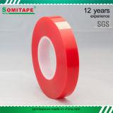 Somi Tape Sh338 Pet Red Tape / Red Pet Film para placa de acrílico interior e exterior
