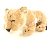 Brown Leão recheado animais Snuggled Peluche para Doll