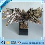 2016 más valorada personalizada casa regalo de la decoración de poliresina Estatua del águila